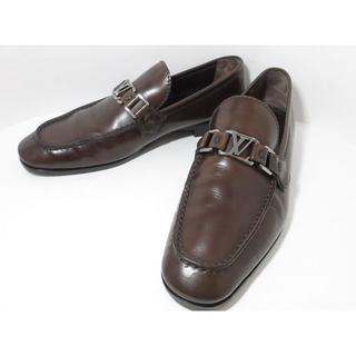 ルイヴィトン(LOUIS VUITTON)のメンズ ルイヴィトンLV金具ローファー6シューズ靴(ドレス/ビジネス)