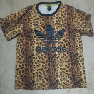 アディダス(adidas)のadidas レオパード(Tシャツ/カットソー(半袖/袖なし))