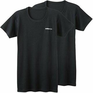アディダス(adidas)の新品【L】adidas neo メンズ クルーネック Tシャツ2枚組 GUNZE(その他)