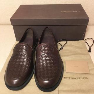 ボッテガヴェネタ(Bottega Veneta)の《新品未使用》美品 ボッテガ ヴェネタ BOTTEGA VENETA ローファー(ドレス/ビジネス)