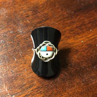インディアン(Indian)のリング 指輪 サンフェイス インディアンジュエリー シルバー 7号(リング(指輪))