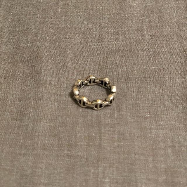 Ron Herman(ロンハーマン)のhoorsenbuhs DAME TRI-LINK 8連 メンズのアクセサリー(リング(指輪))の商品写真