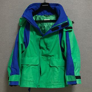 バレンシアガ(Balenciaga)のジヨン着用 BALENCIAGA スキージャケット スウィング パーカー(ブルゾン)