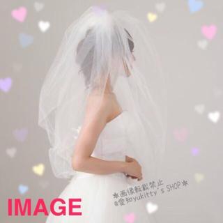 ヴェラウォン(Vera Wang)の即発送🌸美品♥️ELEN HENDERSON*バルーンベール♥️(ヘッドドレス/ドレス)