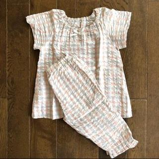 ムジルシリョウヒン(MUJI (無印良品))の無印 パジャマ 110 女の子(パジャマ)