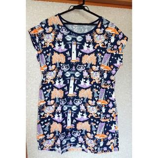 ユニクロ(UNIQLO)のユニクロ☆ムーミン・チュニックTシャツ Lサイズ(チュニック)