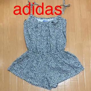 アディダス(adidas)の美品 アディダスオリジナルス ロンパース オールインワン 骨柄 完売品(サロペット/オーバーオール)