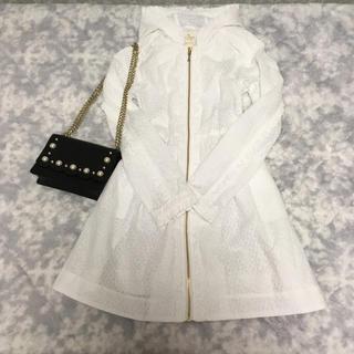 kate spade new york - ケイトスペード  豪華 総刺繍 羽織物 S