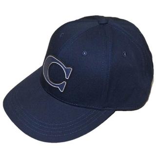 コーチ(COACH)の【COACH★F33777】コーチ 大人気商品♪ キャップ帽子 ネイビー 新品(キャップ)