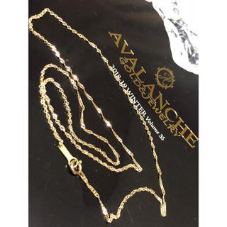 アヴァランチ(AVALANCHE)のアヴァランチ  50cm YG スクリューネックレス(ネックレス)