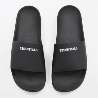 フィアオブゴッド(FEAR OF GOD)のfog essentials サンダル US11 新品 黒 エッセンシャルズ(サンダル)