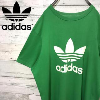 アディダス(adidas)の【激レア】アディダスオリジナルス☆ビッグロゴ ビッグサイズ Tシャツ 3L(Tシャツ/カットソー(半袖/袖なし))