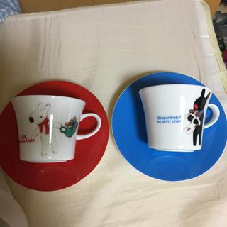 ニッコー(NIKKO)のニッコー NIKKO リサ&ガスパール コーヒーカップ&ソーサー(食器)