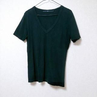 ノーアイディー(NO ID.)のNO ID.*無地*Vネック*カットソー(Tシャツ/カットソー(半袖/袖なし))