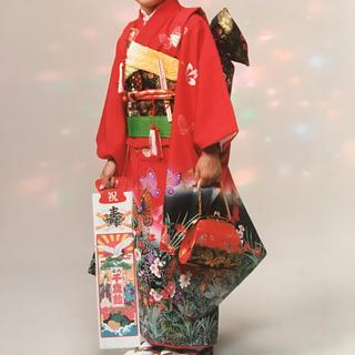 七五三着物7歳女の子フルセット