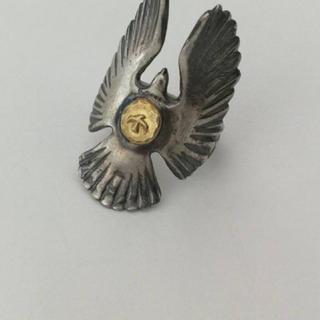 ゴローズ(goro's)のゴローズ goro's K18 イーグルリング 指輪 18金 希少 値下げ交渉可(リング(指輪))