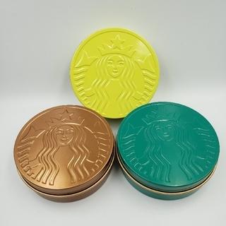 スターバックスコーヒー(Starbucks Coffee)の日本未発売★海外(タイ)スタバ限定品★空缶3色セット(その他)