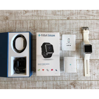 34c13b048f アップルウォッチ(Apple Watch)の【本日限りお値下げ】Fitbit Blaze +