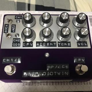 Shin's Music DUMBLOID TWIN ODS Purple 美品(エフェクター)