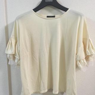 アーバンリサーチロッソ(URBAN RESEARCH ROSSO)のrossoランダムスリーブプルオーバー(Tシャツ(長袖/七分))