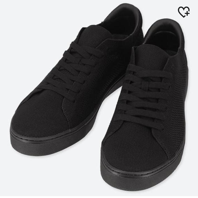 UNIQLO(ユニクロ)のニットスニーカー メンズの靴/シューズ(スニーカー)の商品写真