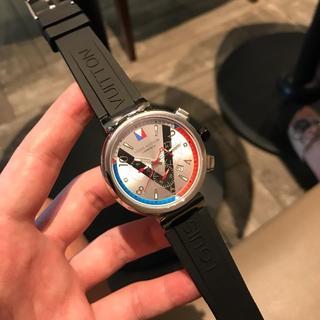 ルイヴィトン(LOUIS VUITTON)のルイヴィトン 腕時計 メンズ 人気(腕時計(アナログ))