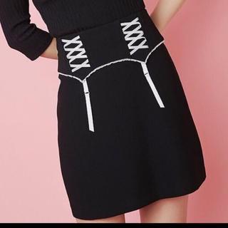 イートミー(EATME)のEATME スカート ブラック(ミニスカート)