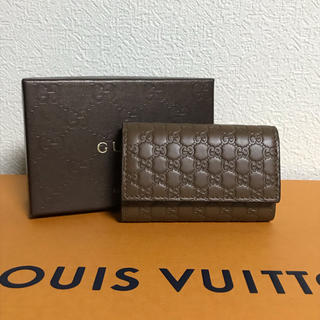 グッチ(Gucci)のグッチ マイクログッチ 6連キーケース ブラウン 150402 アウトレット(キーケース)