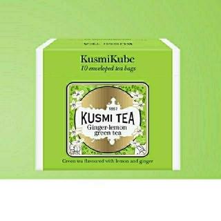 KUSMI TEA クスミティー ジンジャーレモングリーンティー(茶)