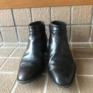 サンローラン(Saint Laurent)のサンローラン ヒールブーツ saint laurent 靴 39.5 チェルシー(ブーツ)