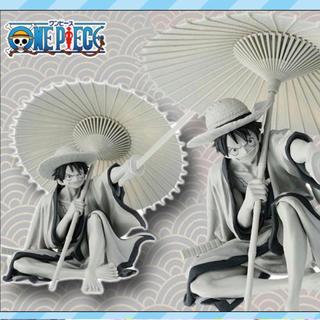 バンプレスト(BANPRESTO)の☆専用☆ ワンピース ルフィ フィギュア 白黒カラー(フィギュア)