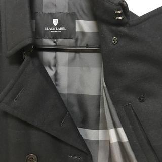 BLACK LABEL CRESTBRIDGE - ブラックレーベルクレストブリッジ ピーコートPコート バーバリーブラックレーベル