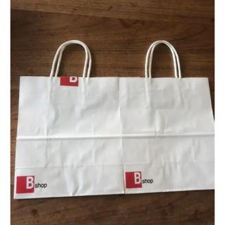 オーシバル(ORCIVAL)のショップ袋 ショッパー ビショップ Bshop 紙袋(ショップ袋)