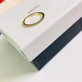 アーカー(AHKAH)の売り切り価格 AHKAH ティナリング 0.16ct  7号サイズのみ(リング(指輪))