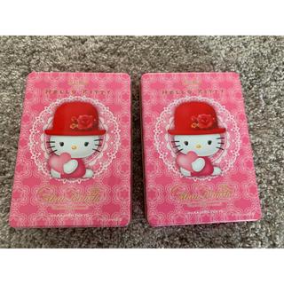 ハローキティ(ハローキティ)のキティお菓子の空き缶(その他)