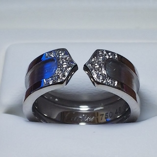 カルティエ(Cartier)のカルティエリング/C2ダイヤモンド(リング(指輪))