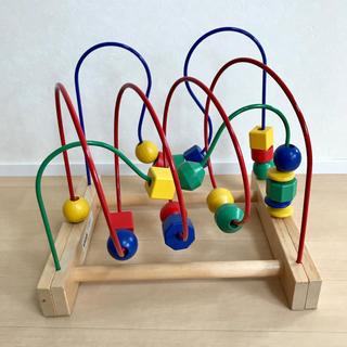イケア(IKEA)のIKEA ルーピング MURA ビーズコースター(知育玩具)
