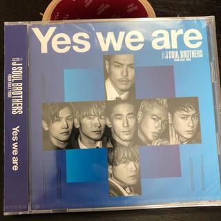 サンダイメジェイソウルブラザーズ(三代目 J Soul Brothers)の三代目J SOUL BROTHERS Yes we are(ポップス/ロック(邦楽))