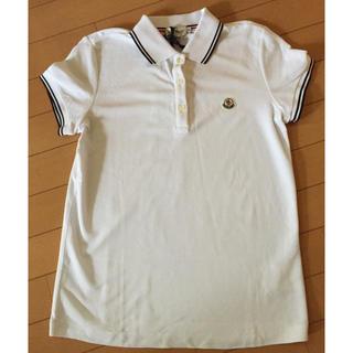 モンクレール(MONCLER)のMONCLER モンクレール 白ポロシャツ(ポロシャツ)