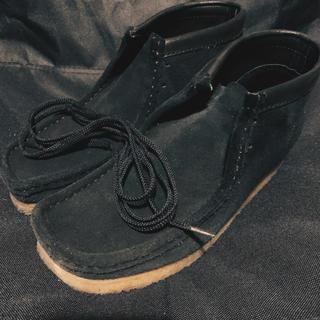 クラークス(Clarks)のClarks : Wallabee Boots 1日のみ着用(ブーツ)