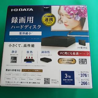 IODATA - 値下 テレビ用ハードディスク 3TB IO-DATA HDCZ-UT3KC