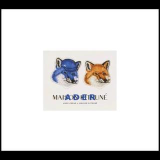 メゾンキツネ(MAISON KITSUNE')のMaison kitsune adererror コラボ ステッカー(その他)