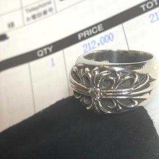 クロムハーツ(Chrome Hearts)の純正ダイヤ◆原本付◆クロムハーツ フローラルクロスリング指輪 12号ダイヤモンド(リング(指輪))