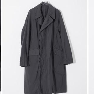コモリ(COMOLI)のteatora デバイスコート device coat カーボングレー(ステンカラーコート)