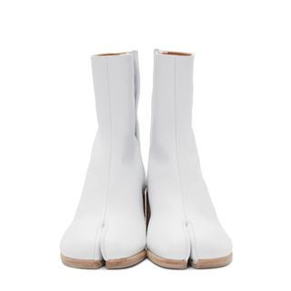 マルタンマルジェラ(Maison Martin Margiela)のマルジェラ 足袋ブーツ ホワイト(ブーツ)