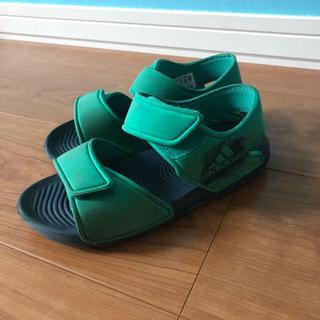 アディダス(adidas)のアディダス  サンダル 18センチ(サンダル)