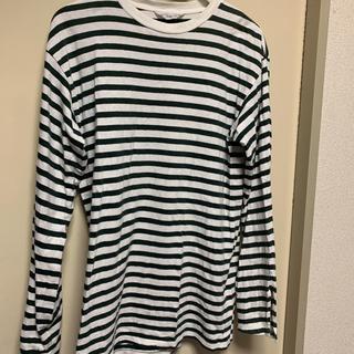 アンユーズド(UNUSED)のUNUSED アンユーズド  ボーダー  サイズ1(Tシャツ/カットソー(七分/長袖))