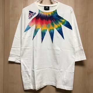 adidas アディダス グラフィックTシャツ 7部袖 M O37756 TEE