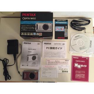 ペンタックス(PENTAX)のPENTAX デジカメ Optio W60 Waterproof(コンパクトデジタルカメラ)