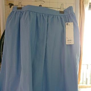 ジーユー(GU)の美品 新品未使用GUフレアスカート(ひざ丈スカート)